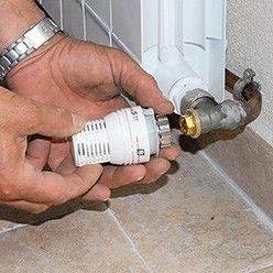 réglage des robinets thermostatiques de radiateurs