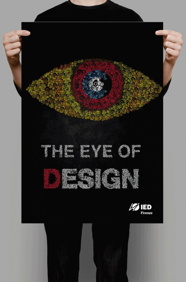 Advertisement campaign for my college, IED Firenze, by Aditi Arora, via Behance