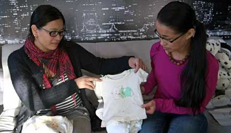 Two Finnish girls search for biological mothers in Taiwan