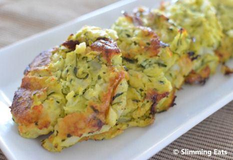 potatoe and courgette fritta