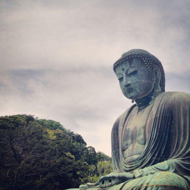 Kamakura Daibutsu. Big Buddah in Kamakura. Amazing!