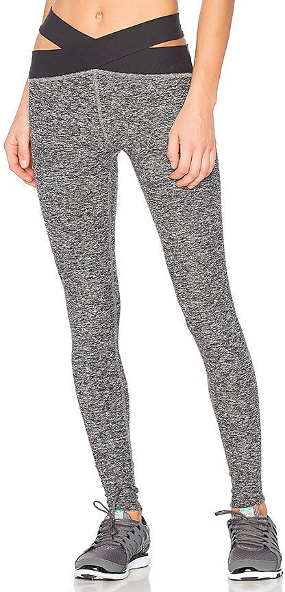 Beyond Yoga East Bound Legging in Gray