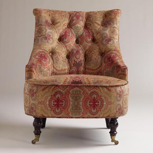 Worldmarket S Venice Paisley Erin Chair Is A Modern Day