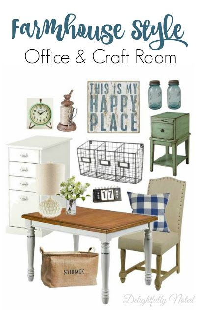 152 Best Farmhouse Style Office Images On Pinterest