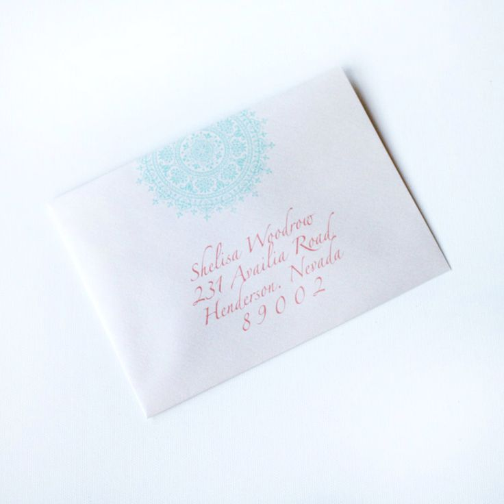 how to return address wedding envelopes%0A Moroccan Inspired Wedding Envelope Digital Addressing   Aisle Bound Designs    LOVE IS STATIONERY