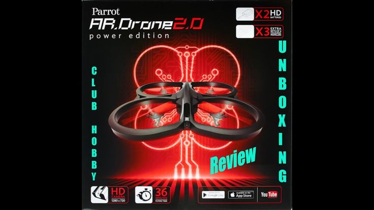 awesome Umboxing Review Parrot AR.Drone 2.0 Power Edition - Drone Check more at http://gadgetsnetworks.com/umboxing-review-parrot-ar-drone-2-0-power-edition-drone/
