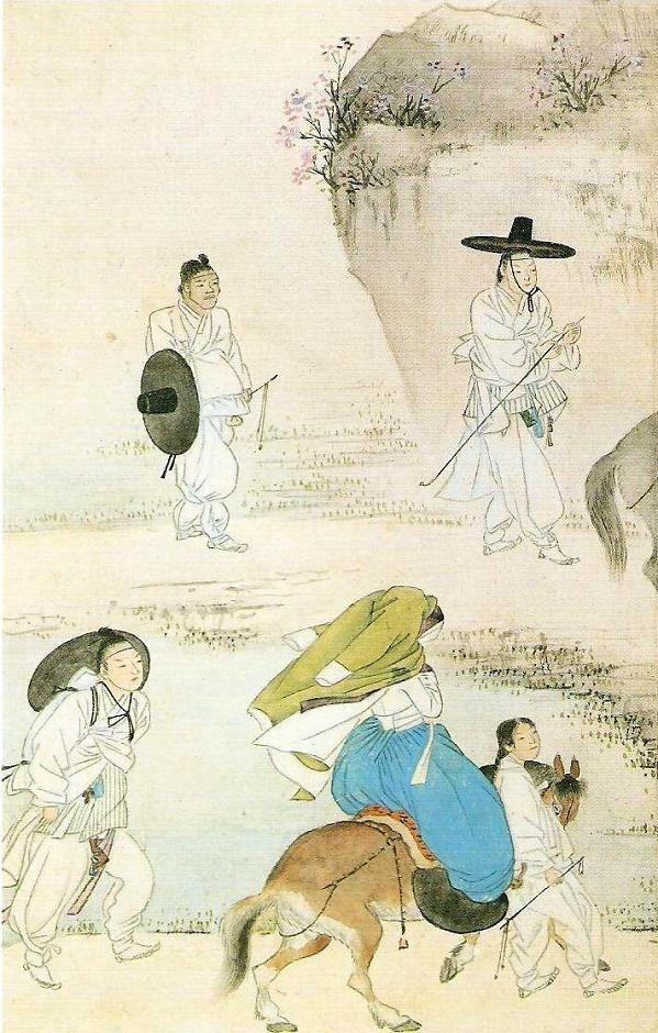 혜원(蕙園) 신윤복(申潤福).
