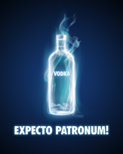 When I'm depressed I hold a wand and imagine all of the happy things of my life and try to make a Patronus. I use vodka to have a good time and be more outgoing and hopefully make more memories that will help me make a Patronus :) #EdenFantasys helps me be ME with the What Defines You #Giveaway! #Giveaway