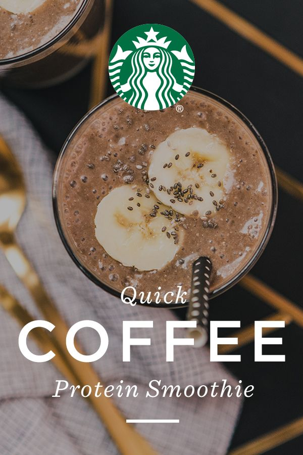 Add to blender: 6 oz. brewed coffee (Pike Place Roast recommended), 1 banana, ½ cup chocolate almondmilk, 2 Tbsp. chia seeds, 1 Tbsp. honey and 1 Tbsp peanut butter. Blend until smooth. To make smoothie thicker, add 1 cup ice cubes and blend again.