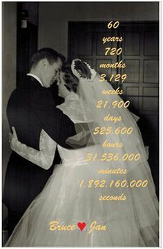 60th wedding anniversary themes - Google Search                                                                                                                                                     More