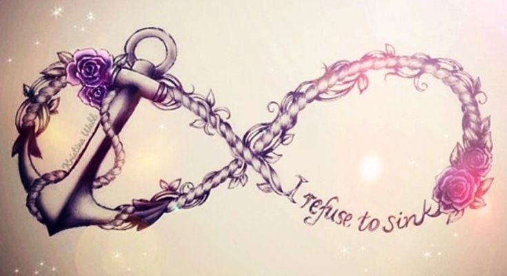 anchor infinity tattoo designs