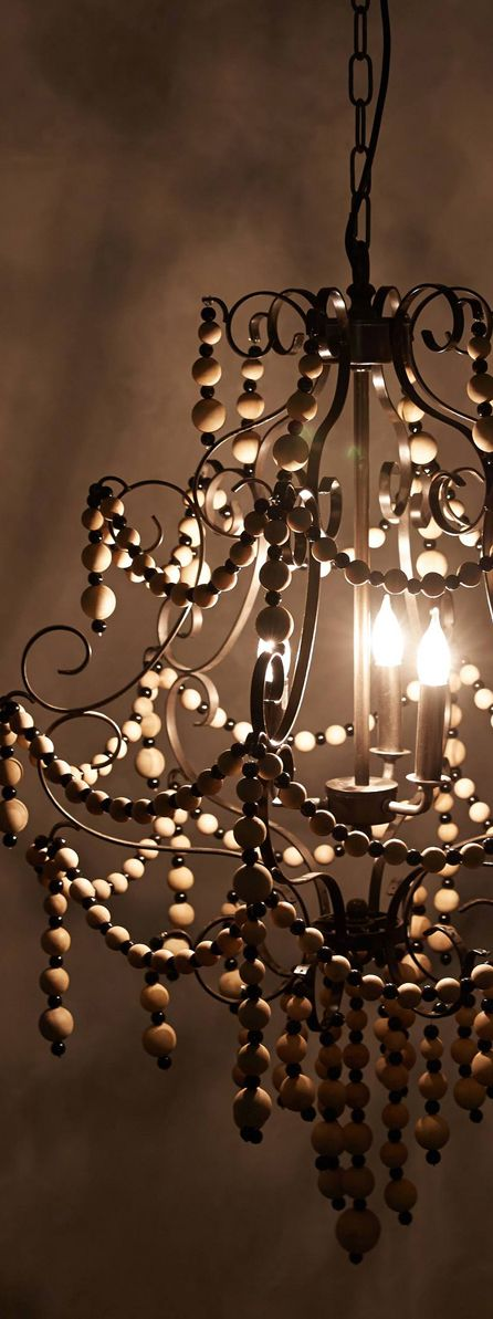 Wooden Chandelier.. I stopped breathing for a second looking at this image..D:
