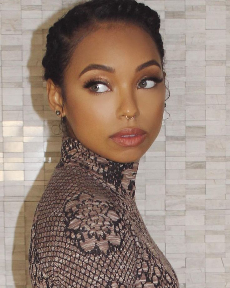 "Logan Browning on Instagram: ""yesterday was cute. tomorrow is cool. today is SEXY."""