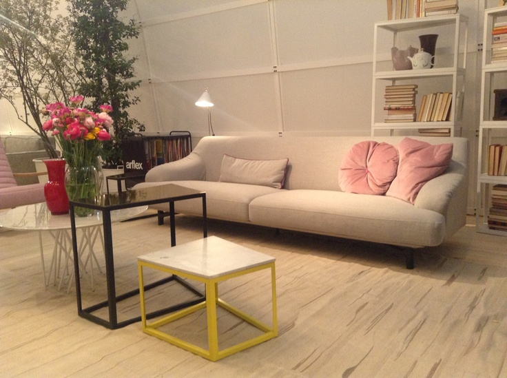 Everything about this makes me happy! #ARFLEX - CANDY SOFA DESIGN CARLO COLOMBO