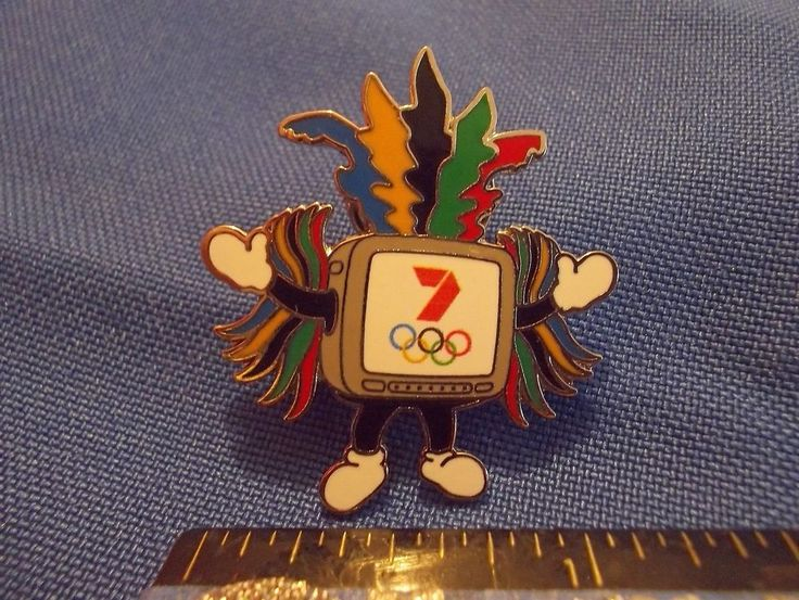 2016 Rio Olympic Media Pin Australia Olympic Network Channel 7 Mascot
