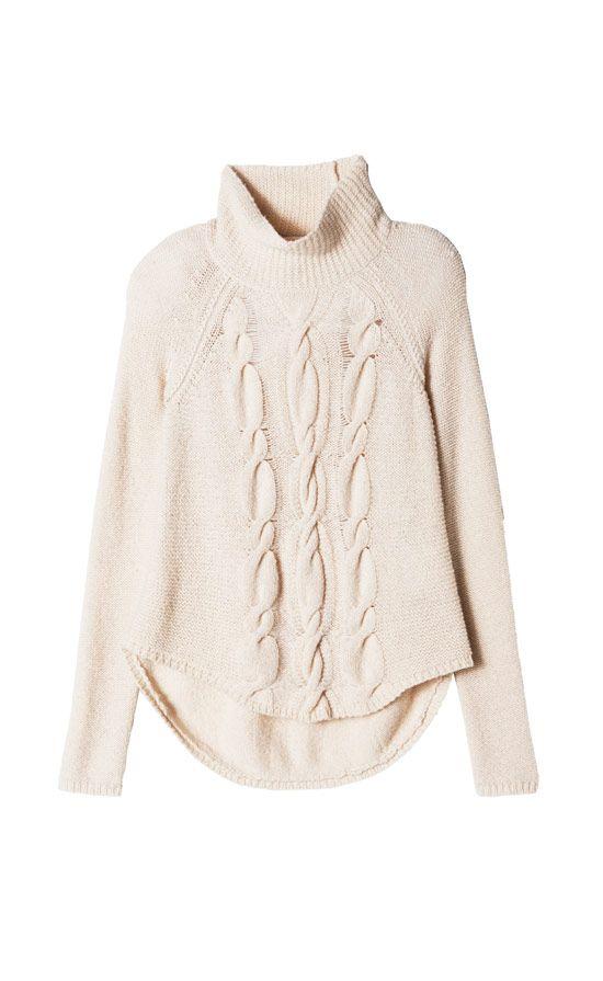 Airspun TurtlenckAirspun Pullover SweaterMesh Stitch Cowl SweaterPointelle CrewTweed & Chain Jac