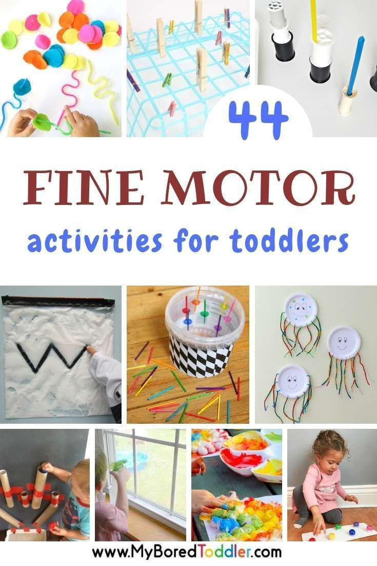 Fine Motor Activities For Toddlers Toddler Activities Easy Toddler Activities Daycare Activities