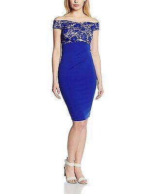 10, Blue (Cobalt Blue), Jessica Wright Women's Carrie Dress NEW