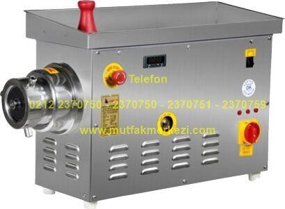 Soğutuculu Kıyma Makinesi SPMS228221223:Sanayi tipi kıyma yapma et çekme makinelerinden bu soğutuculu model kıyma makinesi saatlik 500 kilo kapasitesiyle son derece pratik bir kıyma makinesidir - Soğutuculu kıyma makinesi satış telefonu 0212 2370749
