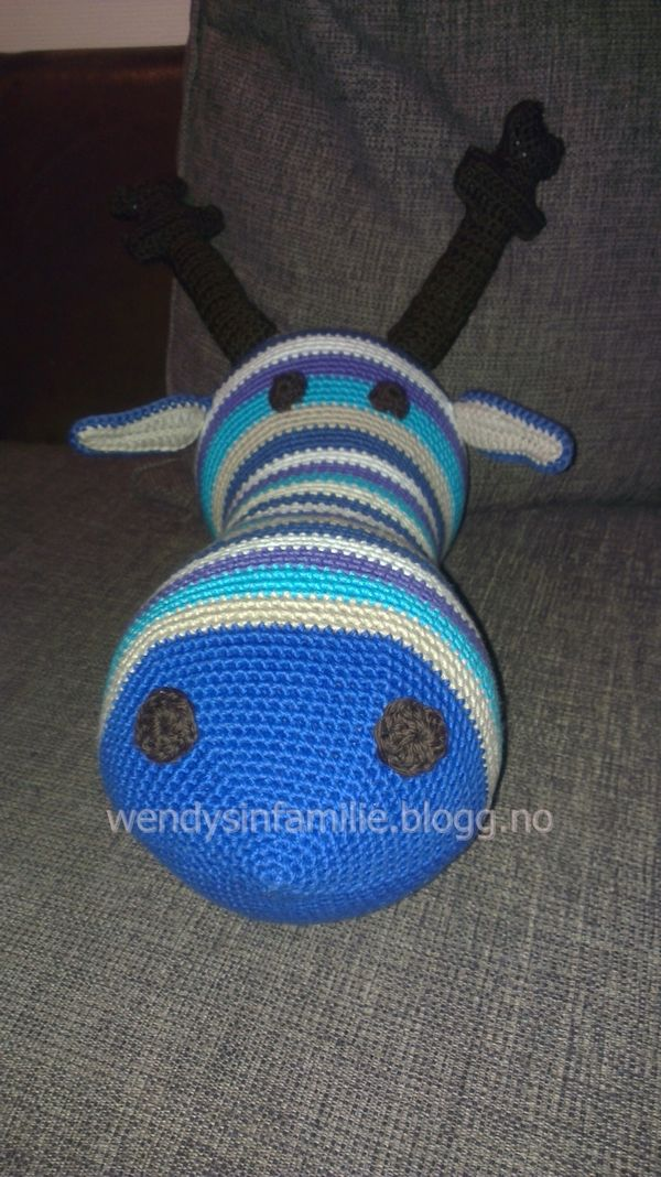Crochet moose