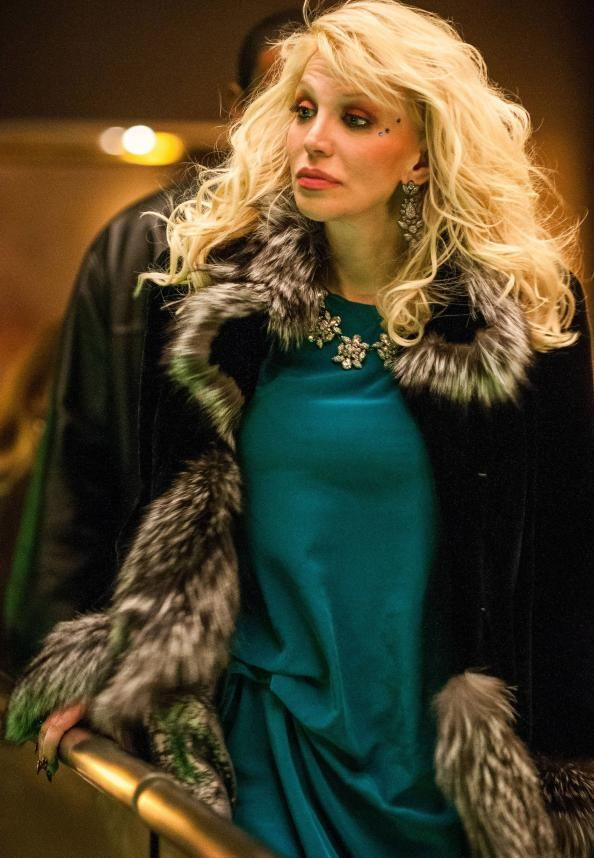 Courtney Love Embraces Her Inner Diva On Last Night's Empire #InStyle