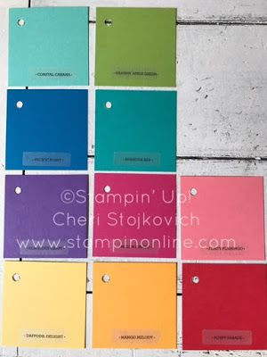 Let's Talk Color!  Stampin' Up colors - what's staying, what's going - what's new!  What's so new and beautiful!?  The color revamp coming this June!