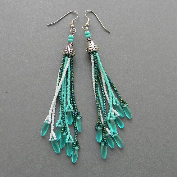 Best 25 Handmade Beaded Jewelry Ideas On Pinterest: Best 25+ Seed Bead Earrings Ideas On Pinterest