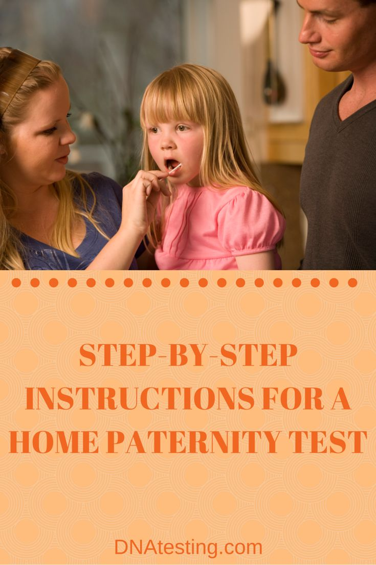 Are you considering doing a home paternity test? Have you already purchased a kit? Here are step-by-step instructions for how to correctly collect and submit DNA samples