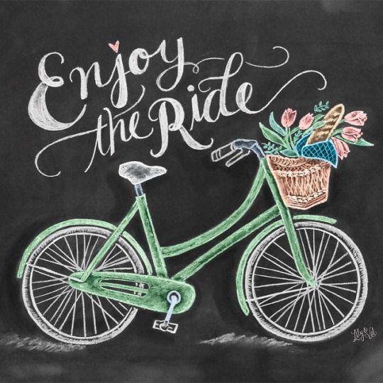 ENJOY! (Chalkboard Art by Valerie McKeehan)