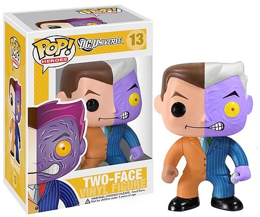 Funko POP! DC Heroes Series 2: Two-Face / US$9.99