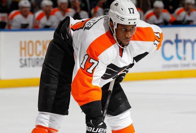 Wayne Simmonds, NHL Flyers Hockey