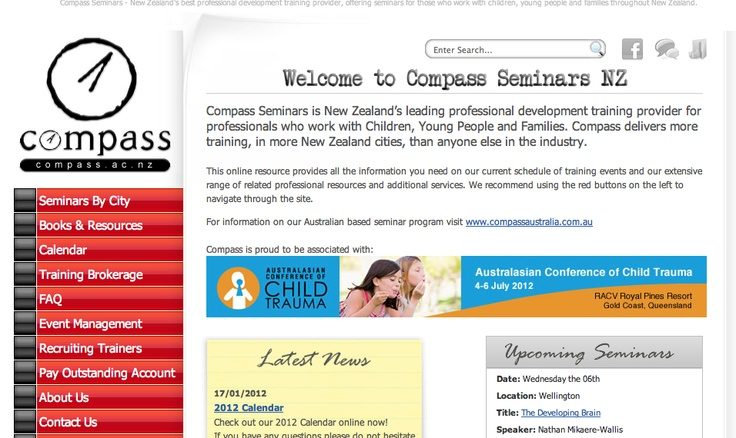 New Zealand and Australian Seminar providers, book your place on the next seminar, or purchase books and DVDs
