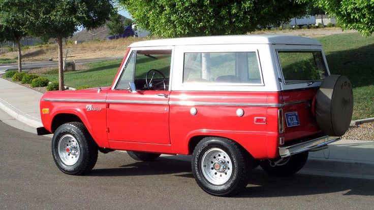 1974 Ford Bronco Bronco Sport