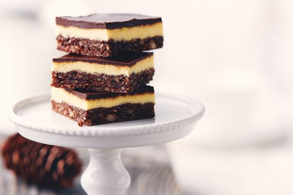 Classic Nanaimo Bars Make sure your Graham Cracker crumbs are Gluten Free and you're good to go!