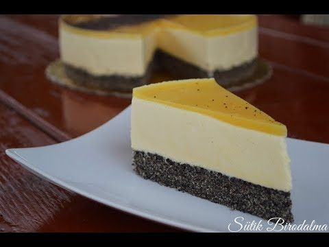 (Mákos) Narancsos mousse torta elkészítése recepttel - Sütik Birodalma - YouTube