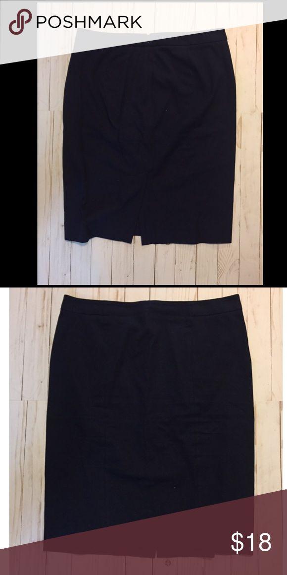"GAP Navy Blue Pencil Skirt Great condition! Back zipper 24"" L GAP Skirts Midi"