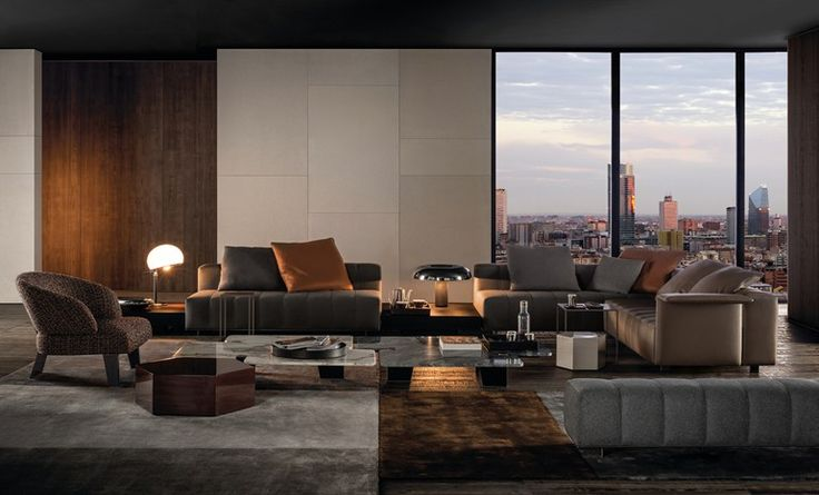 Sofa FREEMAN LOUNGE by Minotti