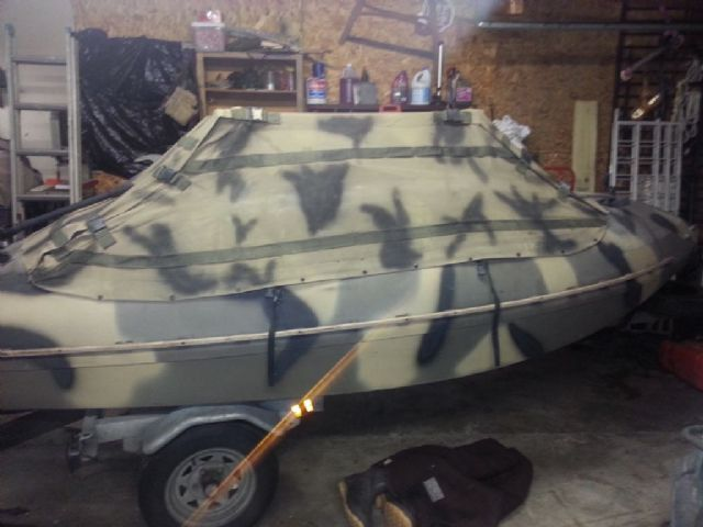14 feet  1992 The Duck Boat Company maine TDB classic Duck Boat , camo for sale in franklin, OH