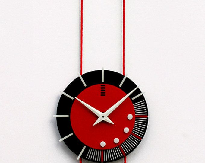 modern geometrical wall clock
