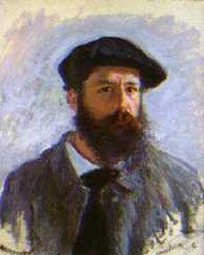 Claude Monet -Önarckép- Selfportret Eyeconart: impresszionizmus