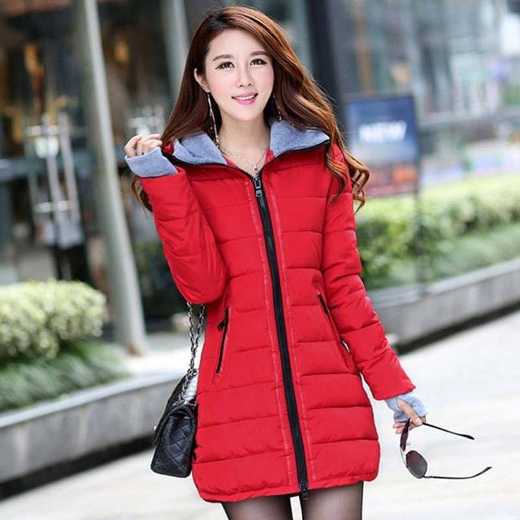 Winter Jacket Women Cotton Padded Coat Parkas For Women Winter Casual Fashion