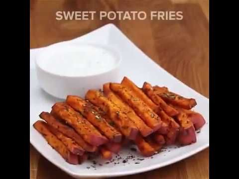 New Year's resolution: eat more veggie fries Veggie Fries 4 Ways These Veggie Fries Are The Best New Years Resolutions Ever Sweet Potato Fries INGREDIENTS Fo...