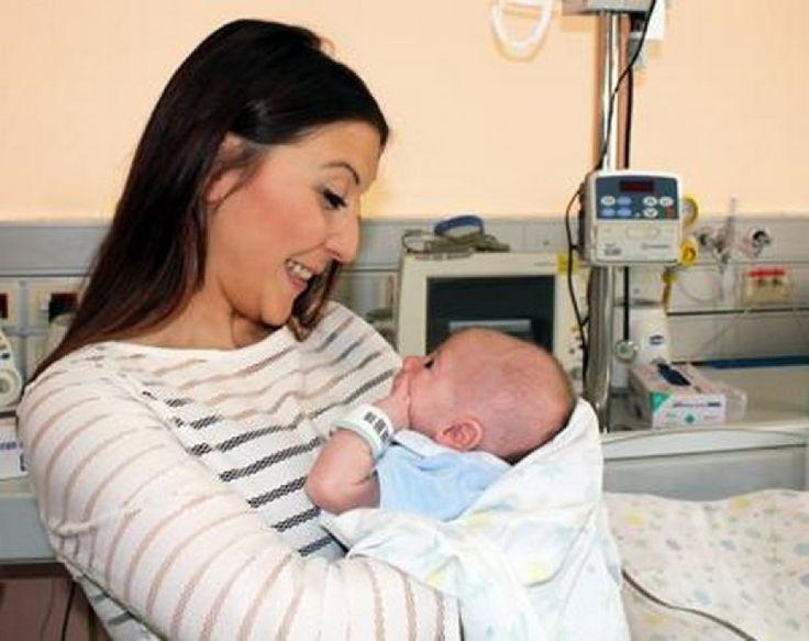 Ecco Kevin, il primo bimbo nato al Bambino Gesù di Roma