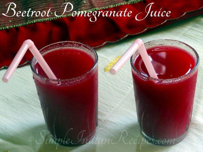 Beetroot Pomegranate Juice