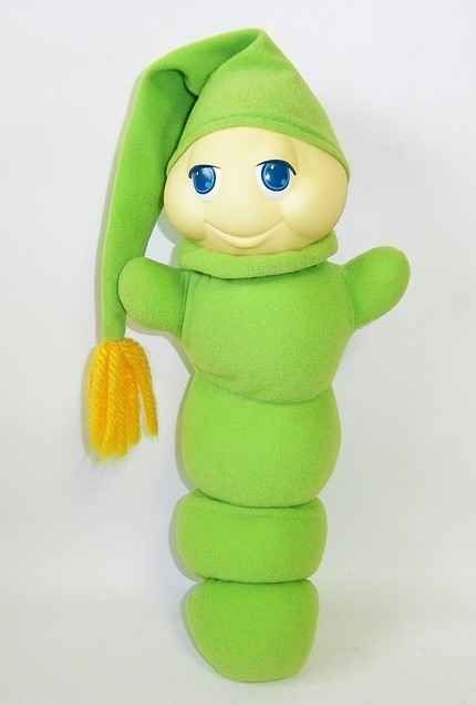 Sleeping with your Glo Worm — and getting creeped out by that softly glowing face staring straight through you in the middle of the night.