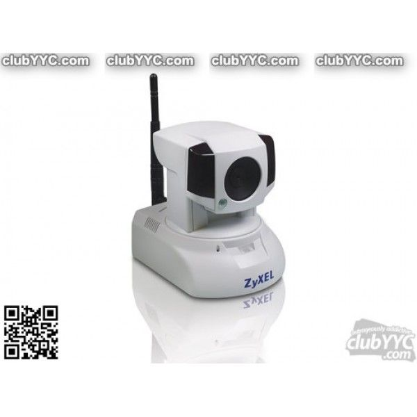 Zyxel Cloud Enabled Network Camera with Night Vision and Remote Viewing (IPC2605N) by www.clubyyc.com