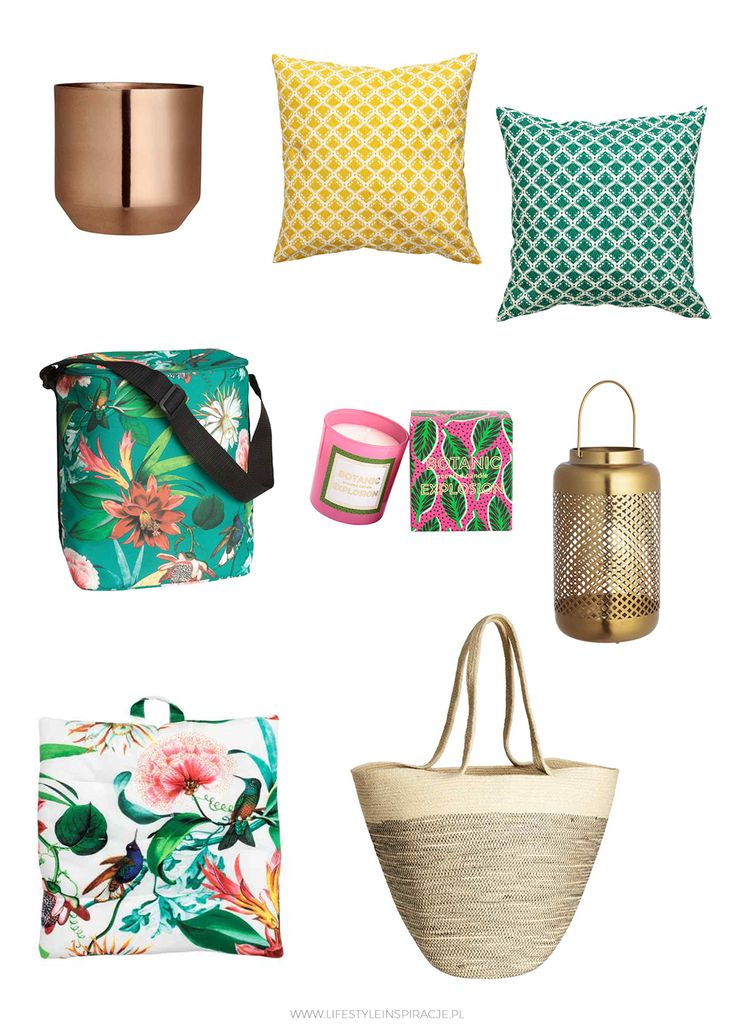 LIFESTYLE INSPIRACJE: Lato z H&M Home / Summer H&M Home