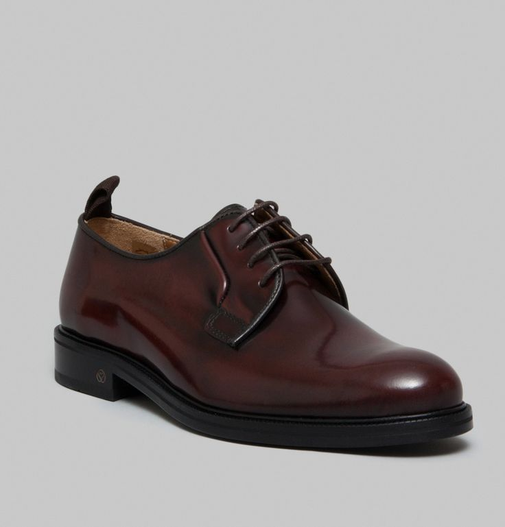 Edition 13 Spazzolato Leather Derbies | National Standard