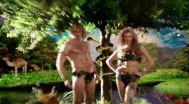 Adam and Eve...Zoolander 2 Alexander Skarsgard
