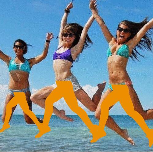 """""""Już niedługo wakacje, słońce, morze, lato. Bądź aktywna jak my, będzie fajnie, co Ty na to? ;)"""" Autor: Bernadetta"""